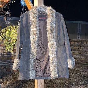 Boho Suede Coat/Jacket